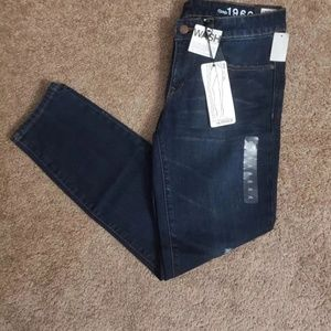 BNWT Gap 1969 Women's Always Skinny Dark Jeans